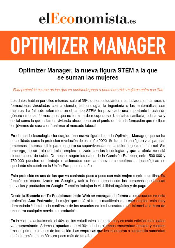 Artículo Optimizer Manager - El Economista (2)