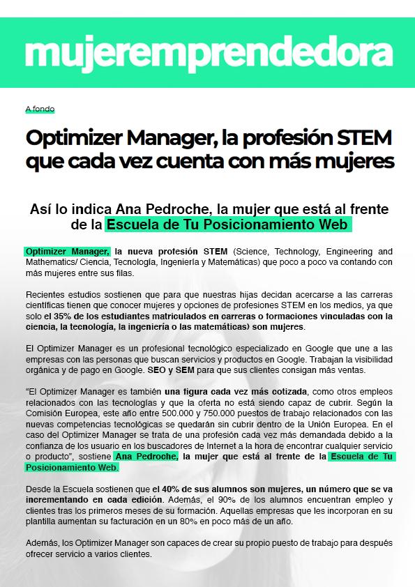 Artículo Optimizer Manager - Mujer Emprendedora (2)