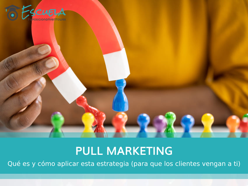 estrategia de pull marketing